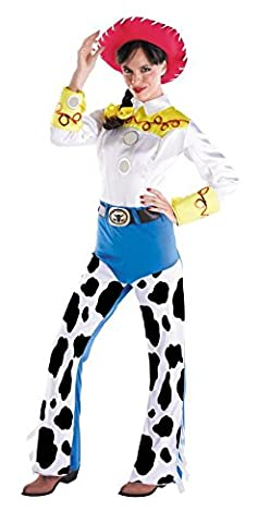 Disguise 179072 Disney Toy Story 2 Jessie Kost-m - Gelb - Medium - 8-10 (Toy Story Jessie Kostüm Zubehör)