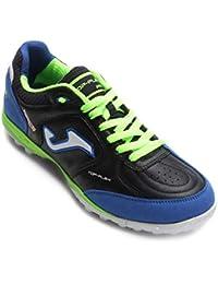 Sportime2 - Zapatillas de Fútbol Sala de Piel para Hombre Azul Turquesa