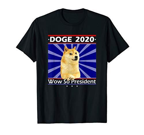 Doge 2020 Meme Amerikanischer Präsident T-Shirt -