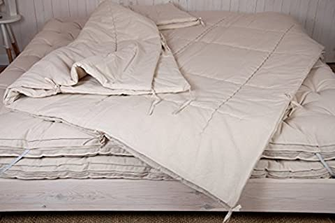 Home of Wool / Wool-filled Duvet Insert / Two-in-one Comforters with ties / Twin, Queen, King or Custom Size / OEKO-TEX Certified Materials / Non - Toxic Bedding / Natural Color / Solid Color / Custom Sizes & Shapes & Fabrics Available / Made - to - Order