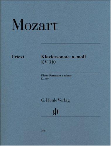 Sonate K310(300d) la min. - Piano par Wolfgang Amadeus Mozart