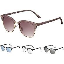 Rezi Gafas de Sol Polarizadas para Hombre y Mujeres, UV400 Lentes de Nylon con Almohadillas