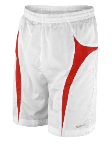 Spiro Micro-Lite Short de l'équipe Blanc - Blanc