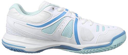 Oltremare bianco Elite Tennis Nvision Femme Wilson Menta Multicolore De Ghiaccio Luce Mehrfarbig Donna Cestini qZfawHO