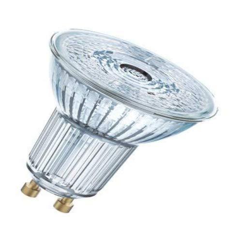 Osram LED Base PAR16 Reflektorlampe, Sockel: GU10, Warm White, 2700 K, 3, 60 W, Ersatz für 50-W