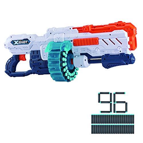 X-SHOT, EXCEL- Excel Giocattolo, Colore Grey, Blue, Taglia Unica, 36136