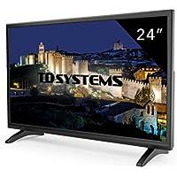 Televisori 24 Pollici. TV Led Full HD TD Systems K24DLM7F, HDMI, VGA, USB lettore e registratore. Versione europea in lingua italiana.