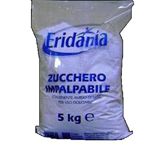Zucchero a velo impalpabile Eridania 5 kg per uso