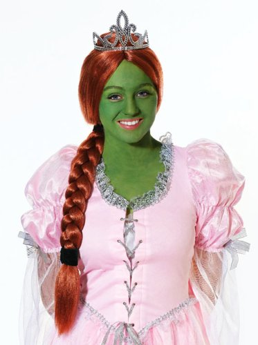Ponytail - Shrek Fancy Dress - Halloween by Home & Leisure Online (Fiona Perücke)