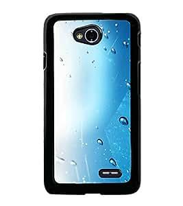 Fuson Designer Back Case Cover for LG L70 :: LG L70 Dual (Water Droplets Droplets rain Water Lights Colourful)