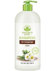 Nature's Gate Shampooing aux extraits de plantes à usage quotidien - Aide à fortifier et à revitaliser les cheveux...