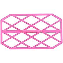 Sello, diseño de rombos, para fondant, para repujado, para tartas, etc.