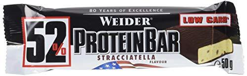 Weider 52% Barritas de Proteínas Stracciatella - 50 gr