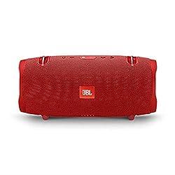 JBL Xtreme 2 Musikbox - Wasserdichter, portabler Stereo Bluetooth Speaker mit integrierter Powerbank - Mit nur einer Akku-Ladung bis zu 15 Stunden Musikgenuss Rot