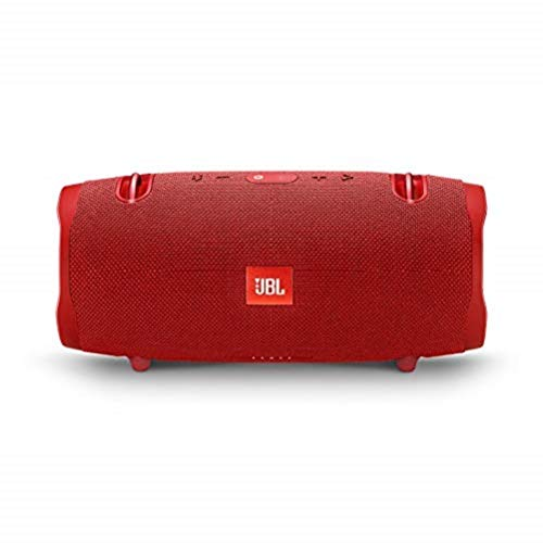 JBL Xtreme 2 Waterproof Bluetooth Speaker with Rechargeable Battery, Carry Strap included, Red