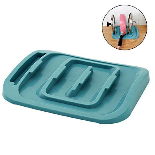 Speicher-rack-ständer (Bontand Küchenschrank Pantry Pot Pan Deckel Rack-Organisator-Speicher Ständer Kochgeschirr Halter Kochen Utensil Werkzeug)