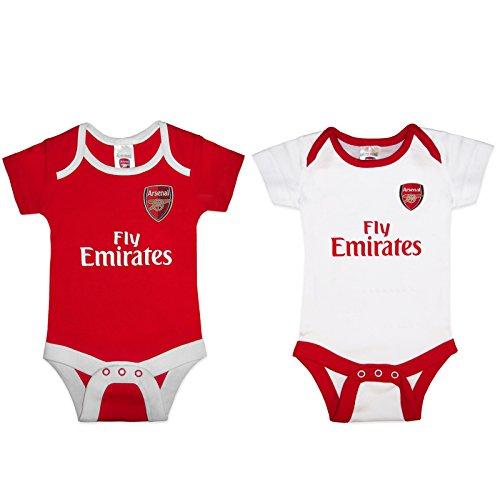 Arsenal F.C. - Body - Bébé (garçon) 0 à 24 mois Rouge Rouge