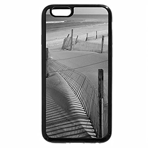 iPhone 6S Plus Case, iPhone 6 Plus Case (Black & White) - Tranquil Sand Dunes 1