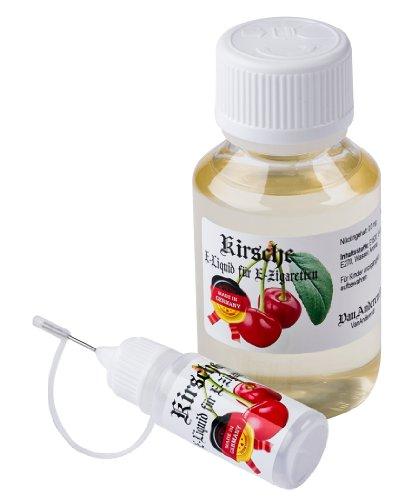 Liquid Kirsche (100ml VanAnderen® - KIRSCHE - PREMIUM E-Liquid + Nadelcapflasche - mit Nikotin 0,0mg)