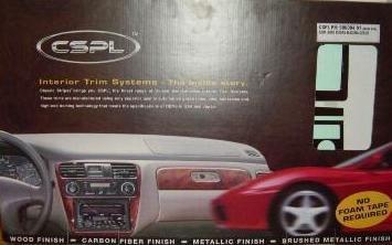 Ford F150 F150 F 150 Super-Crew Cab Innen Burl Wood Dash Trim Kit Set 2001 2002 2003 (Ford F 150 2003)