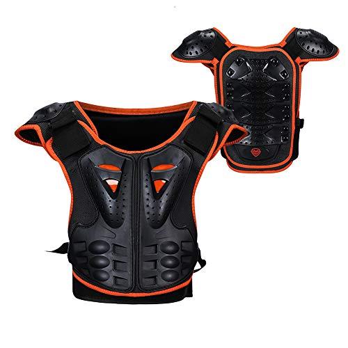 RENNICOCO Equipaggiamento Protettivo per Giubbotto antiproiettile per protettore della Colonna vertebrale per Moto da Cross per Motocross