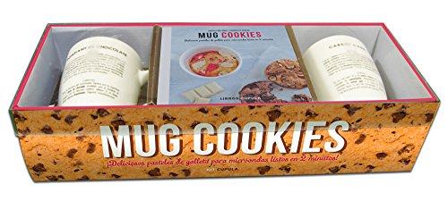 Kit Mug cookies: Deliciosos pasteles de galleta para microondas listos en 2 minutos (Kits Cúpula)