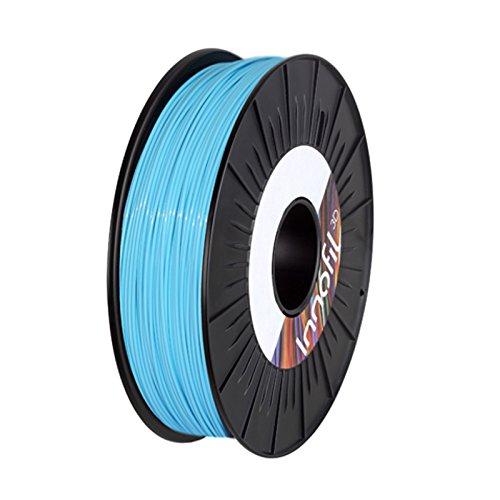 Innofil3d PLA-0035a075 PLA, 1.75 mm, 750 g, Bleu Ciel