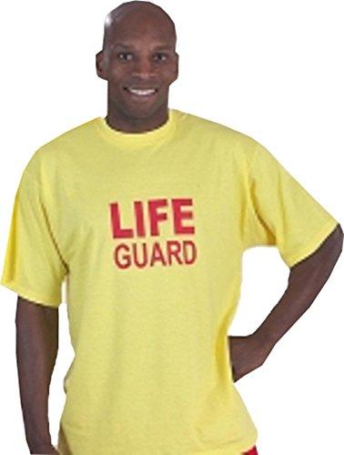 NEW Piscina Rescue/Sicurezza maglietta unisex Lifeguard Tee Shirts Giallo S-XXL, unisex, L