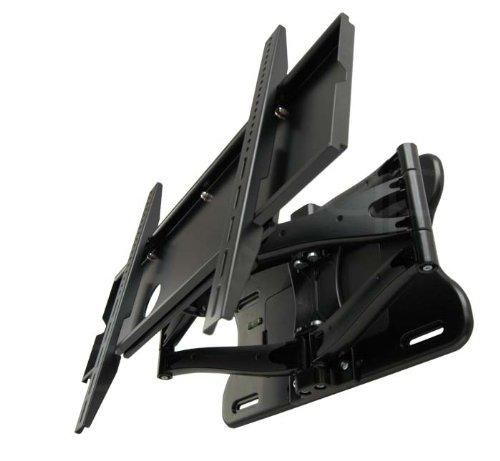 TV Wandhalterung quipma 811, für 37-80 Zoll, bis Vesa 600 x 400, max.75 kg, Schwarz