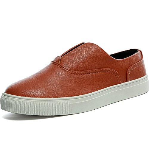 29 EU Zapatos de hombre/Zapatos de verano con la superficie de malla transpirable/Zapatos casuales zapatos de los deportes-B Longitud del pie=24.3CM(9.6Inch)  Color Negro  Rosa (Vernis Pink)  color Morado 2tjagxpD