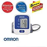 Omron Hem-8712 Blood Pressure Monitor With 5 Year Extended Warranty