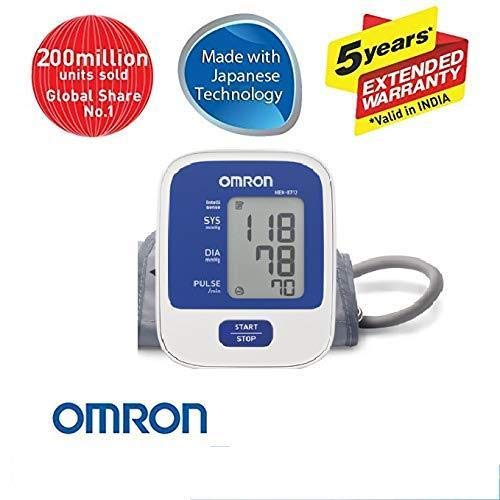 Omron Hem-8712 Blood Pressure Monitor (Multicolour)