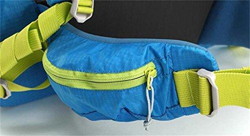 sacchetto di alpinismo uomini e donne borsa a tracolla zaino esterno ( Colore : Nero , dimensioni : 45L ) Blu