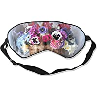 Basket Colorful Flowers Sleep Eyes Masks - Comfortable Sleeping Mask Eye Cover For Travelling Night Noon Nap Mediation... preisvergleich bei billige-tabletten.eu