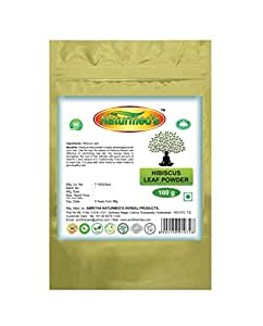 Naturmed's Hibiscus Leaf Powder 100 Grams Pouch