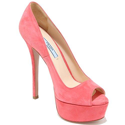 8303i Decollete Popped Femmes Prada Chaussures Chaussures Femmes Fuchsia