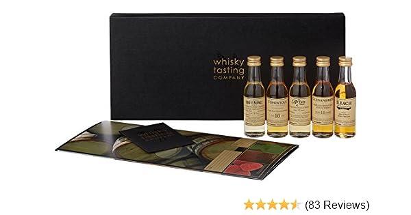 whisky tasting company sample set regions of scotland 5 x 3 cl