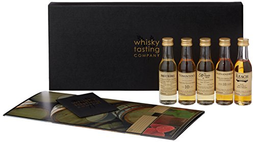 Whisky Tasting Set of the Regions of Scotland