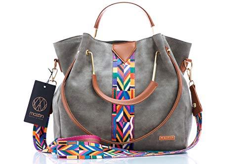 MAZTIN bolsos mujer bandolera hombro y mano marca siéntete única y elegante muy moderno para...