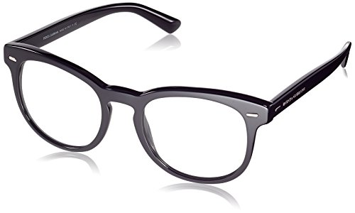 Dolce & Gabbana Damen Dolce&Gabana Sonnenbrille, Mehrfarbig (schwarz/durchsichtig 501/1W), Small (Herstellergröße: 51)