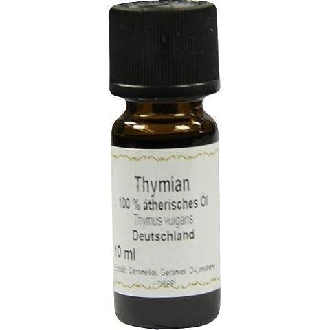Thymian Öl, 100% ätherisches Thymianöl, 10 ml, Thymus vulgaris