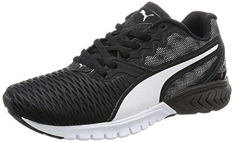 Puma Ignite Dual Wn's Damen Laufschuhe, Schwarz (Puma Black White 02), 42 EU