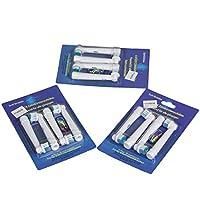 12pcs/lot de remplacement Têtes de brosse à dents électrique pour Oral B Brosse à dents électrique