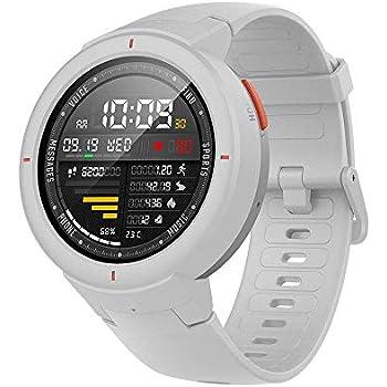 Amazfit Verge Reloj Inteligente SmartWatch con GPS Plus GLONASS, Rastreo de Actividad y Ritmo cardíaco Durante Todo el día,Realización y Respuesta de ...