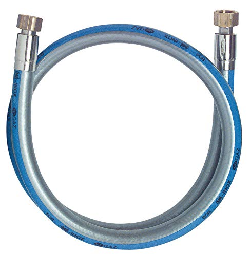 Somatherm B606 – 15 Flexible de acero inoxidable para Gas natural 1,50 m, gris