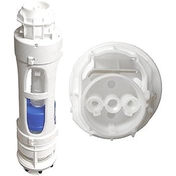 roca dual flush cistern valve only for screw dans rods. Black Bedroom Furniture Sets. Home Design Ideas