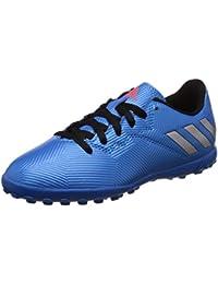 adidas Messi 16.3 AG J, Scarpe da Calcio Bambino, Rosso (Red/Core Black/Footwear bianca), 36 EU