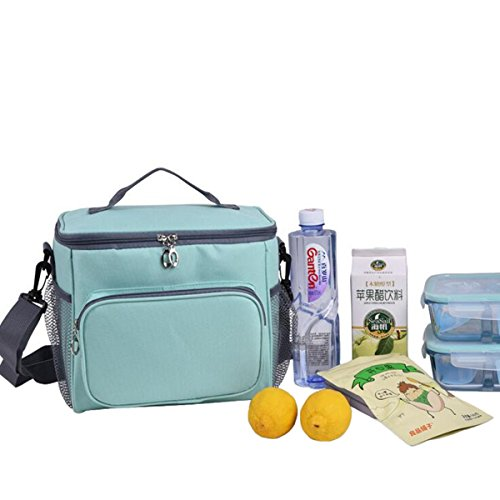 LaDicha 25.5 X18X 22.5 cm Isoliert Kühltasche Kids Women Outdoor Picknick Container Thermal Lunch Bag Totes
