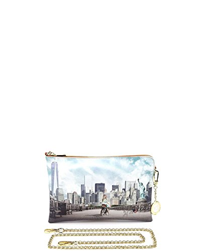BORSA DONNA Y NOT? TRACOLLA POCHETTE BIG APPLE YES BAG J-384
