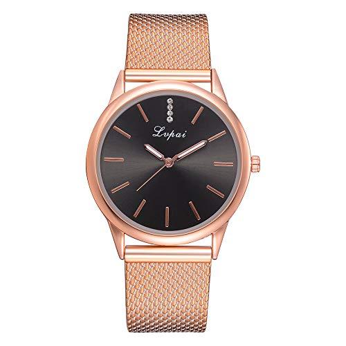 Vendo oro cinturino in silicone casual da donna lvpai orologio da polso analogico